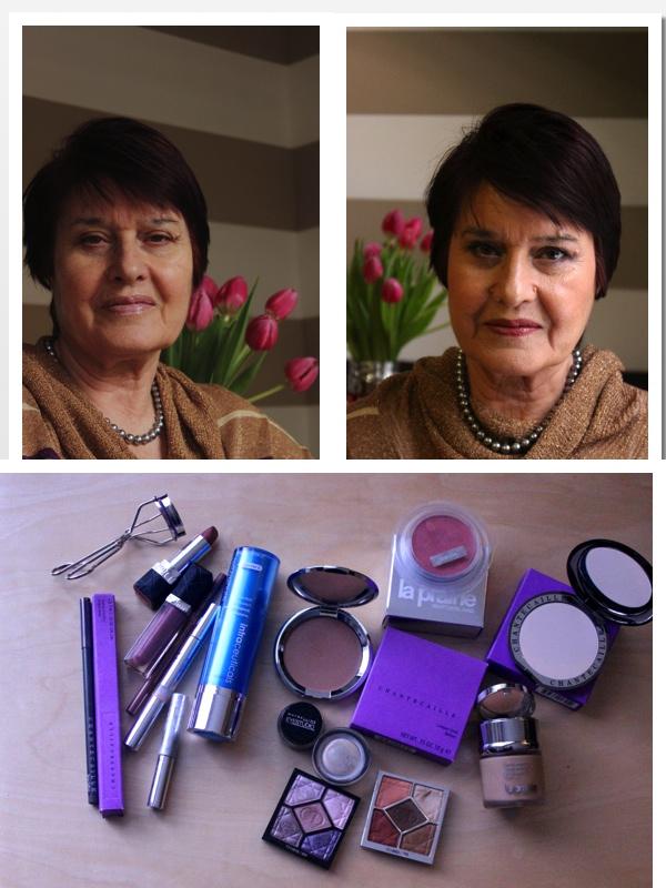 makeup look for mature skin